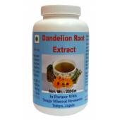 Tonga Herbs Dandelion Root Extract Powder - 200 Gm (Buy Any Supplement Get The Same 60ml drops Free)