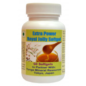 Tonga Herbs Extra Power Royal Jelly Softgel - 60 Softgels (Buy Any Supplement Get The Same 60ml Drops Free)