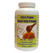 Tonga Herbs Extra Power Royal Jelly Powder - 200Gm (Buy Any Supplement Get The Same 60ml drops Free)