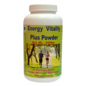 Tonga Herbs Energy Vitality Plus Powder - 200Gm (Buy Any Supplement Get The Same 60ml drops Free)