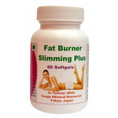 Tonga Herbs Fat Burner Slimming Plus Softgel - 60 Softgels (Buy Any Supplement Get The Same 60ml Drops Free)
