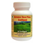 Tonga Herbs Green Tea Plus Softgel - 60 Softgels (Buy Any Supplement Get The Same 60ml Drops Free)
