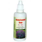 Tonga Herbs Hyssop Essential Drops - 60 ML (Buy Any Supplement Get The Same 60ml Drops Free)