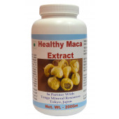 Tonga Herbs Healthy Maca Extract Powder - 200Gm (Buy Any Supplement Get The Same 60ml drops Free)