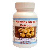 Tonga Herbs Healthy Maca Extract Softgel - 60 Softgels (Buy Any Supplement Get The Same 60ml Drops Free)
