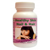 Tonga Herbs Healthy Skin Nails And Hair Softgel - 60 Softgels (Buy Any Supplement Get The Same 60ml Drops Free)
