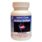 Tonga Herbs Joint Care Active Softgel - 60 Softgels (Buy Any Supplement Get The Same 60ml Drops Free)