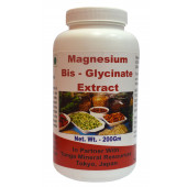 Tonga Herbs Magnesium Bis-Glycinate Extract Powder - 200Gm (Buy Any Supplement Get The Same 60ml drops Free)