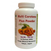 Tonga Herbs Multi Carotene Plus Powder - 200Gm (Buy Any Supplement Get The Same 60ml drops Free)
