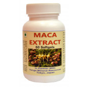 Tonga Herbs Maca Extract Softgel - 60 Softgels (Buy Any Supplement Get The Same 60ml Drops Free)