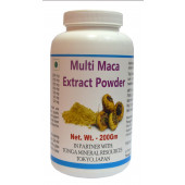 Tonga Herbs Multi Maca Extract Powder - 200Gm (Buy Any Supplement Get The Same 60ml drops Free)