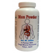 Tonga Herbs Msm Powder - 200Gm (Buy Any Supplement Get The Same 60ml drops Free)