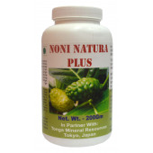 Tonga Herbs Noni Natura Plus Powder - 200Gm (Buy Any Supplement Get The Same 60ml drops Free)