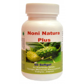Tonga Herbs Noni Natura Plus Softgel - 60 Softgels (Buy Any Supplement Get The Same 60ml Drops Free)