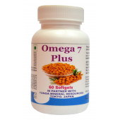 Tonga Herbs Omega 7 Plus Softgel - 60 Softgels (Buy Any Supplement Get The Same 60ml Drops Free)