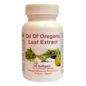 Tonga Herbs Oil Of Oregano Leaf Extract Softgel - 60 Softgels (Buy Any Supplement Get The Same 60ml Drops Free)