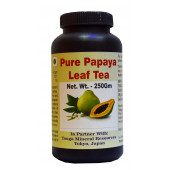 Tonga Herbs Pure Papaya Leaf Tea - 250 Gm (Buy Any Supplement Get The Same 60ml Drops Free)