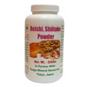 Tonga Herbs Reishi Shiitake Powder - 200Gm (Buy Any Supplement Get The Same 60ml drops Free)
