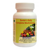 Tonga Herbs Senior's Daily Complete Multivitamin Softgel - 60 Softgels (Buy Any Supplement Get The Same 60ml Drops Free)