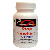 Tonga Herbs Stop Smoking Softgel  - 60 Softgels (Buy Any Supplement Get The Same 60ml Drops Free)