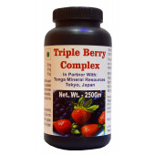 Tonga Herbs Triple Berry Complex Tea - 250 Gm (Buy Any Supplement Get The Same 60ml Drops Free)