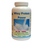 Tonga Herbs Whey Protein Power Powder - 200Gm (Buy Any Supplement Get The Same 60ml drops Free)