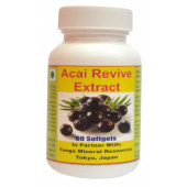Tonga Herbs Acai Revive Extract Softgel - 60 Softgels (Buy Any Supplement Get The Same 60ml Drops Free)