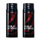 Wild Stone Red Body Deodorant 200ml - (Pack OF2)