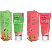 Aroma Magic Neem And Tea Tree & Strawberry Pack of 2 Face Wash