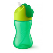 Philips Avent Bendy Straw Cup Green - 300 ml