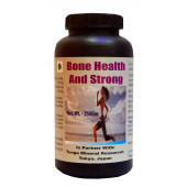 Tonga Herbs Bone Health & Strong Tea - 250 Gm (Buy Any Supplement Get The Same 60ml Drops Free)