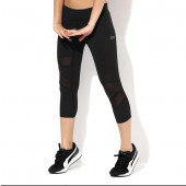 Silvertraq Mesh Cross Capris - Black
