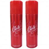 Charlie Red Deodorant 200Ml (Pack Of 2)