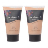 Coloressence Aqua Make Up Base, Beige (35ml)-Pack OF 2