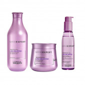 L'Oreal Professionnel Serie Expert Prokertin Liss Unlimited Shampoo 300 ML + Masque 250 ML + Serum 125ml Combo
