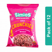 Timios Crunchies Breakfast Cereals Pouch- Pack of 12