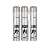 Engage New Metal Range For Women, Drizzle, 150ml Pack Of 3