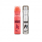 Engage Blush and Drizzle Combo Set  (150ML-Pack of 2)