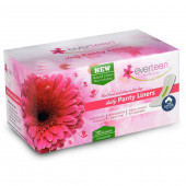 everteen® 100% Natural Cotton Daily Panty Liners for Women - 1 Pack (36pcs)