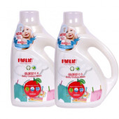 Farlin Eco-Friendly Baby Liquid Laundry-Clothing Detergent 1000ml bottle (Combo Pack of 2)