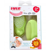 Farlin Doctor J. Comb & Brush Set-Green