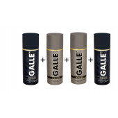 Galle Winsen & Fresno Deodorant Body spray Pack of 4