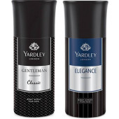 Yardley Gentleman And Elegance Deo (Pack Of 2) 150ml Each