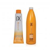 GK Juvexin Cream Color Tube No-6 & Developer