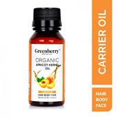 Greenberry Organics Organic Apricot Kernel Oil