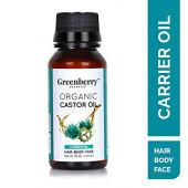 Greenberry Organics Organic Castor Oil - 50 ML