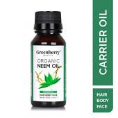 Greenberry Organics Organic Neem Oil - 50 ML