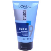 L'Oreal Studio Line 9 Radical 24h Fibre Gel, Extreme Hold, 150ml Hair Gel  (150 ml)
