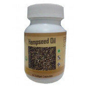 Hawaiian herbal hempseed oil capsule