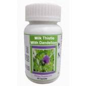 Hawaiian herbal milk thistle and dandelion capsule